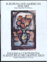 European and American Fine Art English & Continental Furniture &  Decorative Arts