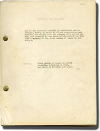 image of The Feminine Touch [Female of the Species] (Original screenplay for the 1941 film, Van Heflin's working copy)