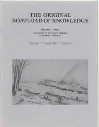 The Original Boatload of Knowledge Down the Ohio River