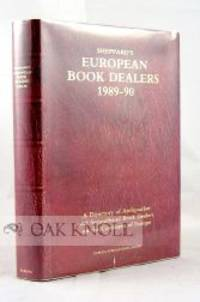 London: Sheppard Press, 1989. cloth, dust jacket. Bookselling. 8vo. cloth, dust jacket. vi, 300 page...