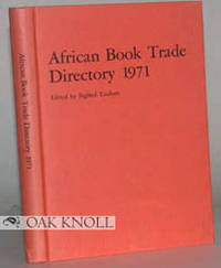 AFRICAN BOOK TRADE DIRECTORY 1971