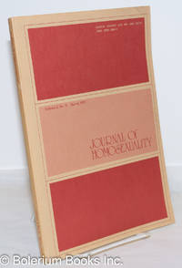 image of Journal of Homosexuality: vol. 2, #3, Spring 1977