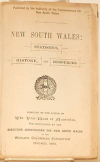 NEW SOUTH WALES:  Statistics, History, and Resources