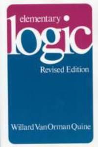 Elementary Logic : Revised Edition