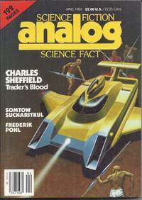 """image of ANALOG Science Fiction/ Science Fact: April, Apr. 1986 (""""The Coming of the Quantum Cats"""")"""