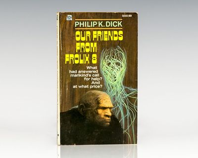New York: Ace Publishing Corporation, 1970. First edition of this satirical adventure which deals wi...