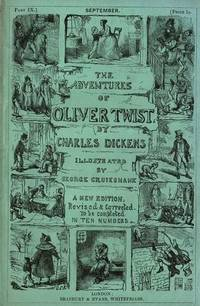 Adventures of Oliver Twist Or, The Parish Boy's Progress in 10 monthly parts