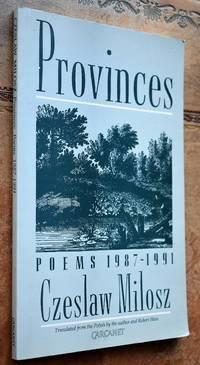 image of PROVINCES Poems 1987-91