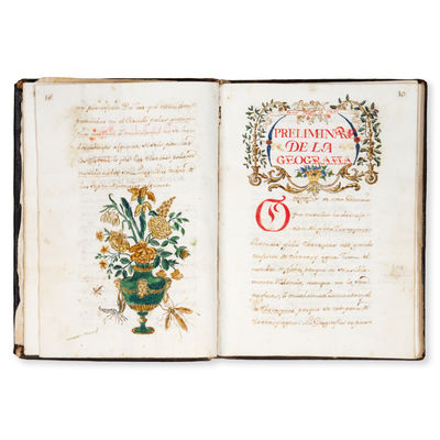 [Spanish manuscript description of...