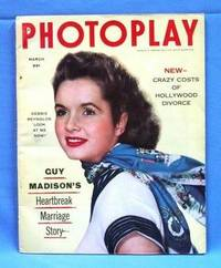 PHOTOPLAY ( MARCH 1954, VOLUME 45, NO. 1)  Movie Magazine with Debbie  Reynolds Cover