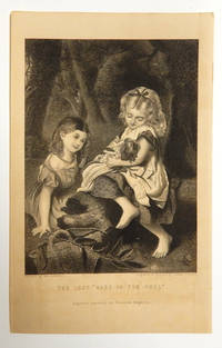 """""""The Lost 'Babe in the Wood'"""" Engraved Plate from Peterson's Magazine, collected edition"""