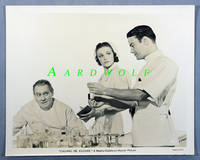"image of 8""x10"" Original Studio Publicity Photograph, Lionel Barrymore, Lew Ayres, Laraine Day in Calling Dr. Kildare, 1939"