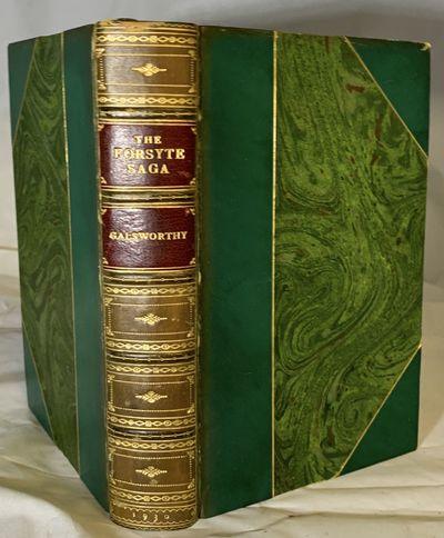 London: William Heinemann Ltd, 1930. Hardcover. Three quarter green calf, marbled boards and matchin...