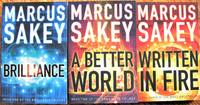 The Brilliance Trilogy: Includes- Brilliance, A Better World, and Written in Fire