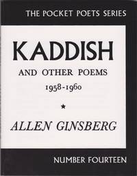 image of Kaddish and Other Poems 1958-1960