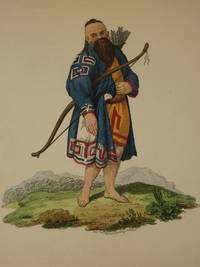 The Costume of the Russian Empire 1811. Original Hand Coloured Engraving by John Dadley (after Johann Gottlieb Georgi). Plate LXI: A Kurilian [Ainu People/Kuril Islands/Kurile Islands/Siberia]