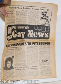 image of Pittsburgh Gay News: for the Pittsburgh area gay community; #11, Saturday, June 1, 1974: Gay Pride Issue