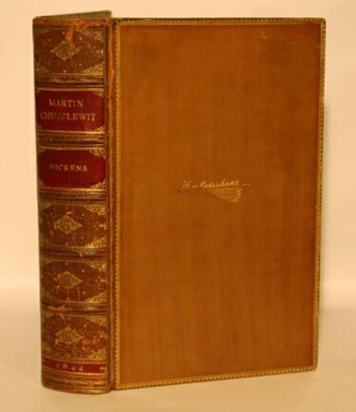 London: Chapman and Hall, 1844. First Edition in book form. Very good+ in elaborate full leather (ca...