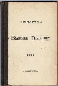 image of Princeton Business Directory 1896.