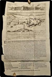Breve y verdadera descripcion del ynexpvgnable fverte Schencken, como por yndustria de la gente de su M[a]g[esta]d Catolica se gano en 28 de jvlio año 1635.