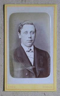 Carte De Visite Photograph: Portrait of a Young Man.