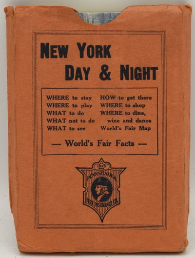 New York: Harry D. Copp, 1939. Soft Cover. Very Good binding. A pocket guide book for New York and t...