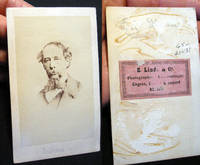 Carte-de-Visite Portrait of Charles Dickens By E. Linde & Co. Berlin