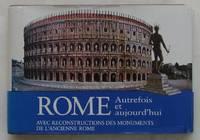image of Rome. Autrefois et aujourd'hui. Avec reconstructions des monuments de l'ancienne Rome