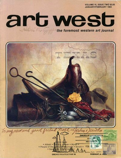 Bozeman, MT: Art West, 1983. Book. Very good+ condition. Paperback. Signed by Author(s). First Editi...