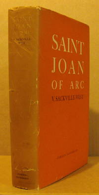 Saint Joan of Arc. by  V SACKVILLE-WEST - Signed First Edition - 1936 - from Peter Ellis bookseller and Biblio.com