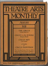 Theatre Arts Monthly. Volume XV Number 8. August, 1931.