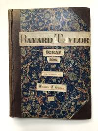 Scrapbook kept by great Altoona book collector William F. Gable, clippings charting Bayard...
