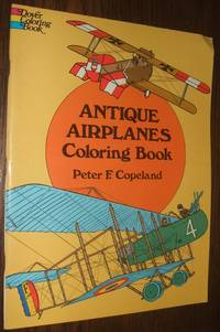 image of Antique Airplanes Coloring Book