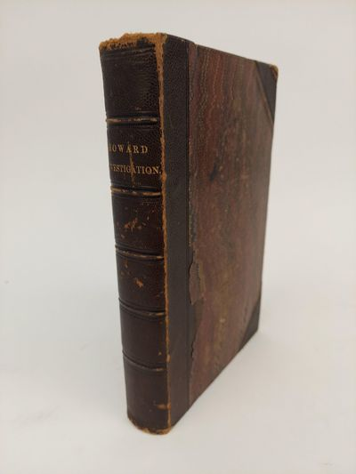 : , 1870. First edition. Hardcover. Octavo; 549, 55 pp. Hardcover in half morocco over marbled board...