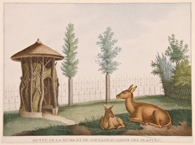Paris: Basset, 1808. Engravings, printed in colours and finished by hand, by Lambert freres after Hu...