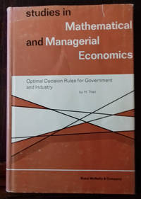 Optimal Decision Rules for Government and Industry