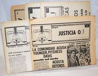 Justicia O...! voice of the National La raza Law Students Association [five issue broken run]