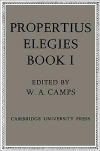 image of Propertius: Elegies: Book 1: Bk. 1