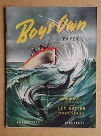 Boy's Own Paper. August 1950.