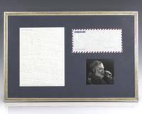 Ernest Hemingway Autographed Letter Signed.