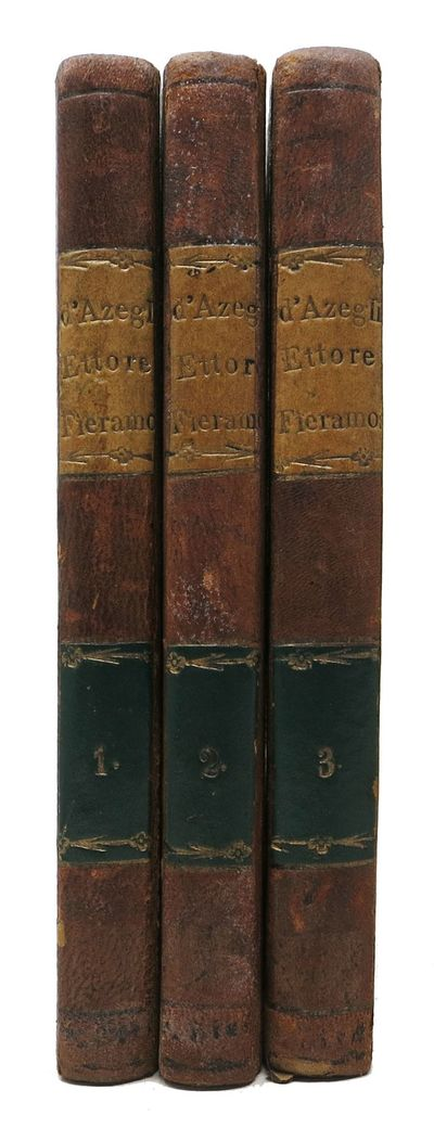 Torino: Per Giuseppe Pomba, 1833. 4th edition, revised & correctedition. Issued same year as the Mil...