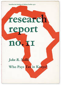 image of Who Pays Tax in Kenya? [Scandinavian Institute of African Studies, Research Report no. 11]