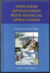 Nonlinear Optimization with Financial Applications