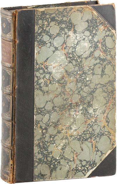 Dublin: James McGlashan, 1847. First Edition. First book edition, bound up from the parts, with stab...