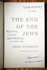 The End of the Jews : A Novel