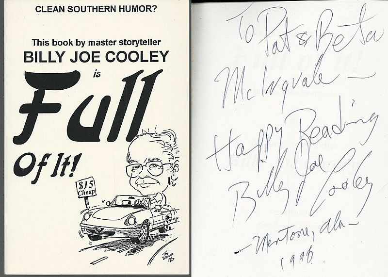 BILLY JOE COOLEY IS FULL OF IT!  Clean Southern Humor, Cooley, Billy Joe
