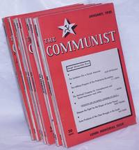 image of The Communist; a magazine of the theory and practice of Marxism-Leninism.  [9 issues for 1935]
