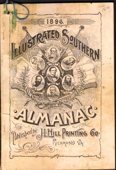 Richmond: J. L. Hill Printing Co, 1896. First Edition. Wraps. Good +. Approx. 7.75