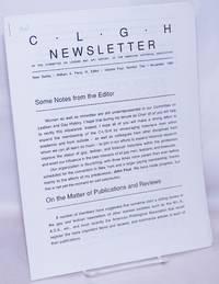 image of CLGH newsletter: new series, vol. 4, #2, November 1990