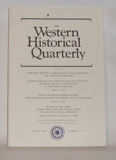 Logan, Utah: Western History Association and Utah State University, 1991. First Edition. First print...